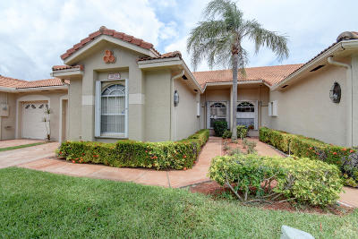 Boynton Beach Single Family Home For Sale: 2633 Crabapple Circle