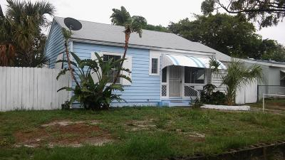West Palm Beach Single Family Home For Sale: 810 Palmetto Street