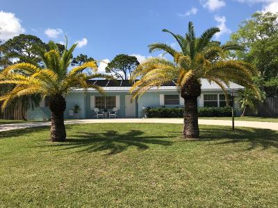 Fort Pierce Single Family Home For Sale: 6506 Fort Walton Avenue