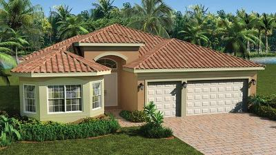 Boynton Beach Single Family Home For Sale: 12834 Granite Mountain Pass