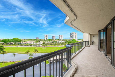 West Palm Beach Condo For Sale: 1900 Consulate Place #605