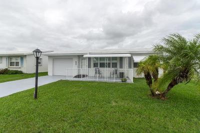 Boynton Beach Single Family Home Contingent: 2391 SW 13th Avenue