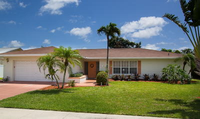 Boca Raton Single Family Home For Sale: 78 SW 12th Terrace