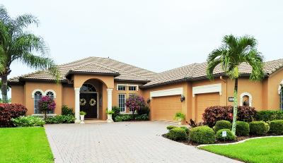 Port Saint Lucie Single Family Home For Sale: 912 SW Grand Reserves Boulevard