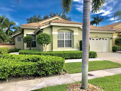 West Palm Beach Single Family Home For Sale: 8196 Quail Meadow Way