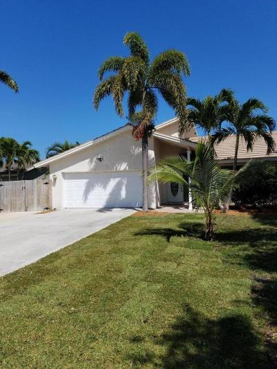Tequesta Single Family Home For Sale: 4384 Nicole Circle