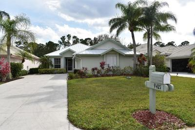 Fort Pierce Single Family Home For Sale: 9421 Poinciana Court