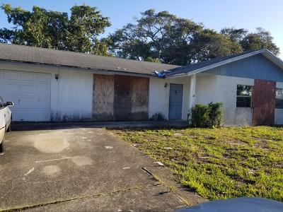 Lake Worth Single Family Home Contingent: 1926 Fittin Court