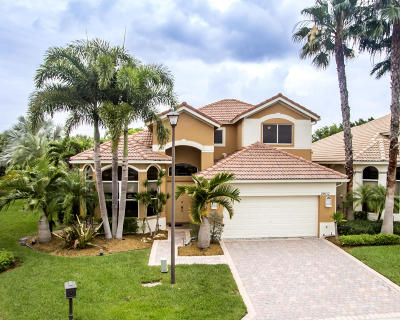 West Palm Beach Single Family Home For Sale: 10852 Grande Boulevard
