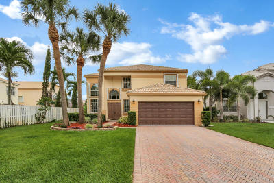 Lake Worth Single Family Home For Sale: 6167 Cotton Rose Lane