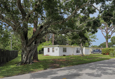 Fort Pierce Single Family Home For Sale: 1209 York Avenue