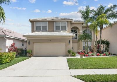 Margate Single Family Home For Sale: 3470 Greenview Ter Terrace E