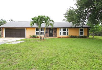 West Palm Beach Single Family Home For Sale: 12695 61st Street