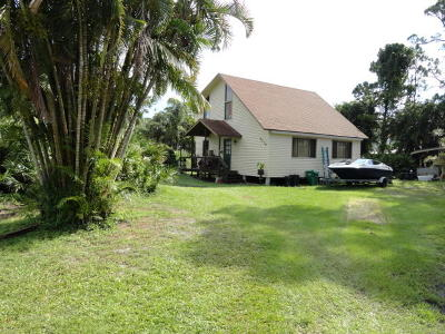 Fort Pierce Single Family Home For Sale: 5516 Spruce Drive