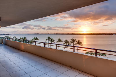 Palm Beach Condo For Sale: 3100 S Ocean Boulevard #Ph 607n