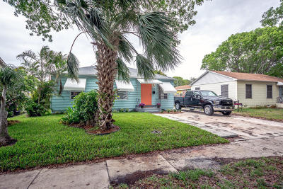 West Palm Beach Single Family Home For Sale: 824 Winters Street