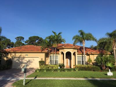 Hobe Sound Single Family Home For Sale: 10002 SE Osprey Pointe Drive