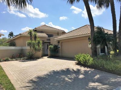 Boca Raton Single Family Home For Sale: 17448 Via Capri