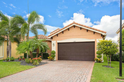 Boynton Beach Single Family Home For Sale: 11691 Mantova Bay Circle
