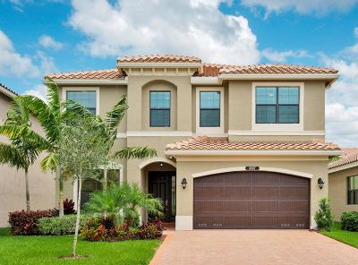 Delray Beach Single Family Home For Sale: 8087 Green Tourmaline Terrace