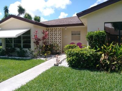 Delray Beach Single Family Home For Sale: 14150 Nesting Way #A