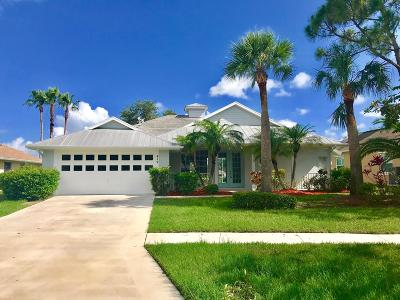 Port Saint Lucie Single Family Home For Sale: 419 SW SWeetwater Trail