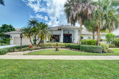 Boca Raton Single Family Home For Sale: 10734 Stonebridge Boulevard