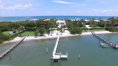 Jupiter Single Family Home For Sale: 607 S Beach Road