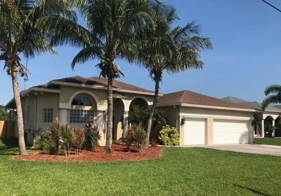 Port Saint Lucie Single Family Home For Sale: 5495 NW Dunn Road