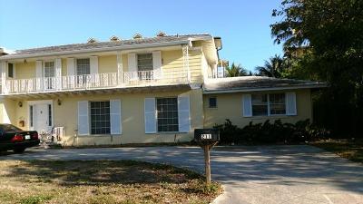 West Palm Beach Single Family Home For Sale: 211 Flagler Lane