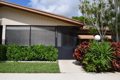 Delray Beach Single Family Home For Sale: 14585 Lucy Drive