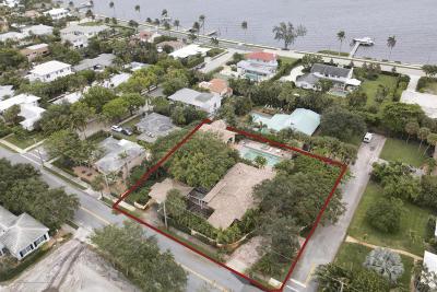 West Palm Beach Single Family Home For Sale: 133 Miramar Way