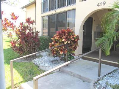 Greenacres Condo For Sale: 419 Pine Glen Lane #A-1