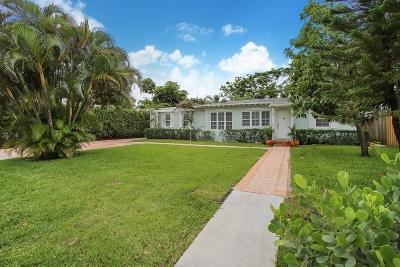 Delray Beach Single Family Home For Sale: 263 NE 12th Street