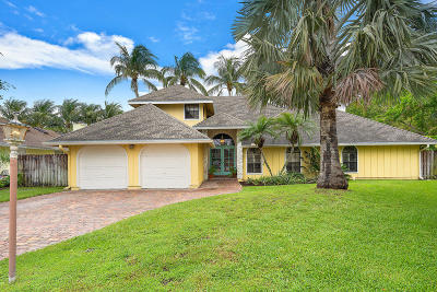 Palm Beach Gardens Single Family Home For Sale: 2963 Frenchmens Passage