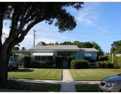 West Palm Beach Single Family Home For Sale: 1023 Omar Road