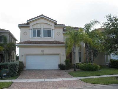 West Palm Beach Single Family Home For Sale: 583 Gazetta Way