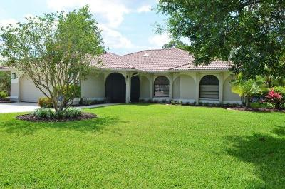 Port Saint Lucie Single Family Home For Sale: 1190 SW Live Oak Cove