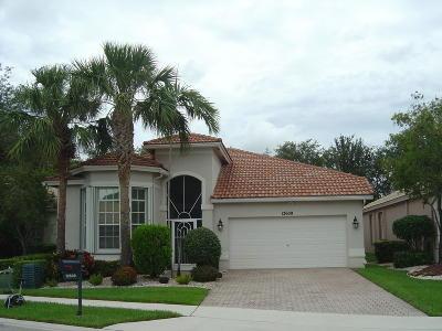 Boynton Beach Single Family Home For Sale: 12609 Via Lucia