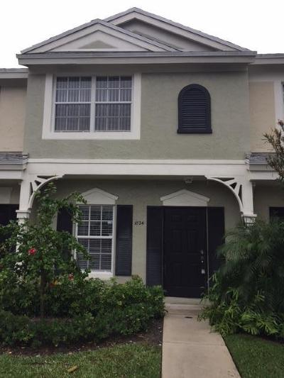 Delray Beach Townhouse For Sale: 1024 Kokomo Key Lane