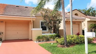 Boca Raton Single Family Home For Sale: 10941 Lakemore Lane #C