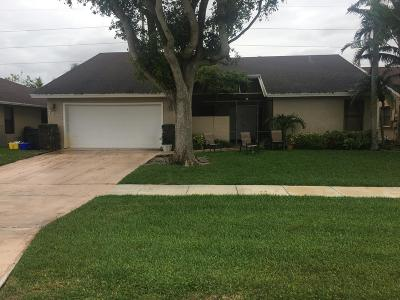 Boca Raton Single Family Home Contingent: 7833 San Marcos Place