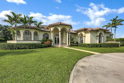Delray Beach Single Family Home For Sale: 8490 Sawpine Road