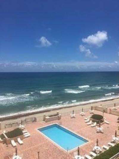 Highland Beach Condo For Sale: 4505 S Ocean Boulevard #503