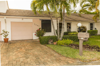 Lake Worth Single Family Home For Sale: 3043 Strawflower Way