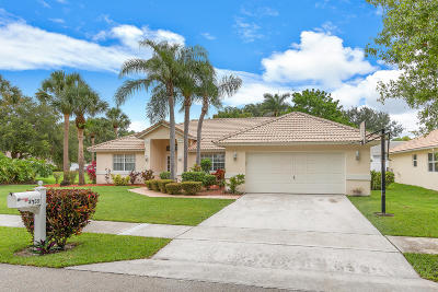 Delray Beach Single Family Home For Sale: 3755 Beachwood Drive
