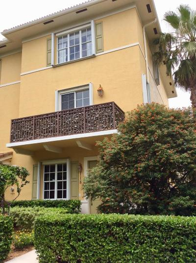 Jupiter Townhouse For Sale: 118 Morning Dew Circle