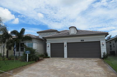 Boynton Beach Single Family Home For Sale: 12874 Granite Mountain Pass