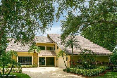 Palm Beach Gardens Single Family Home For Sale: 4 Banchory Court