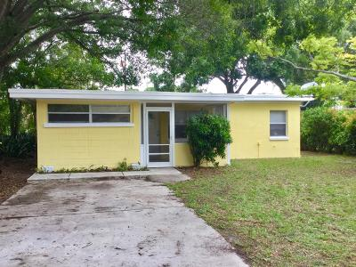 Fort Pierce Single Family Home For Sale: 1218 Wyoming Avenue